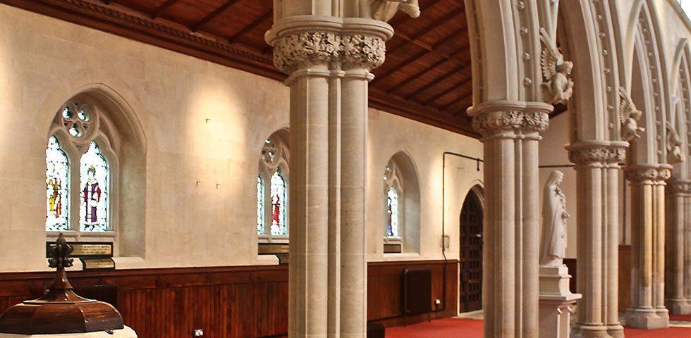 St Mary's Church restoration